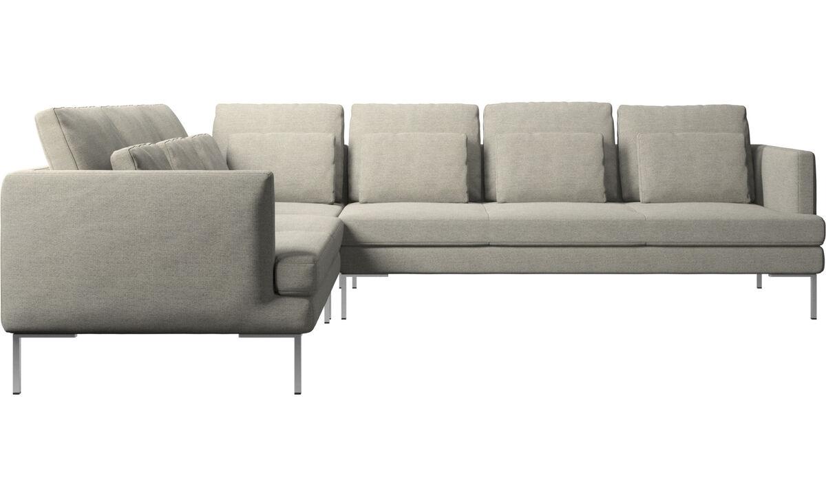 Угловые диваны - угловой диван Istra 2 - Бежевого цвета - Tкань