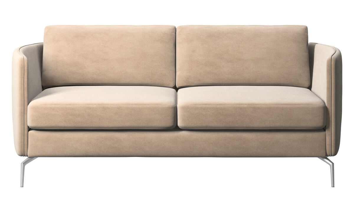2 seater sofas - Osaka sofa, regular seat - Beige - Fabric
