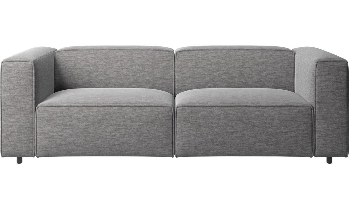 Sofás modulares - Sofá Carmo - En gris - Tela