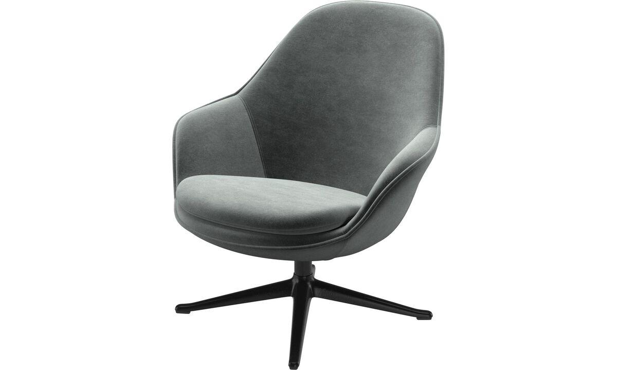 Fotele - fotel Adelaide - Zielony - Tkanina