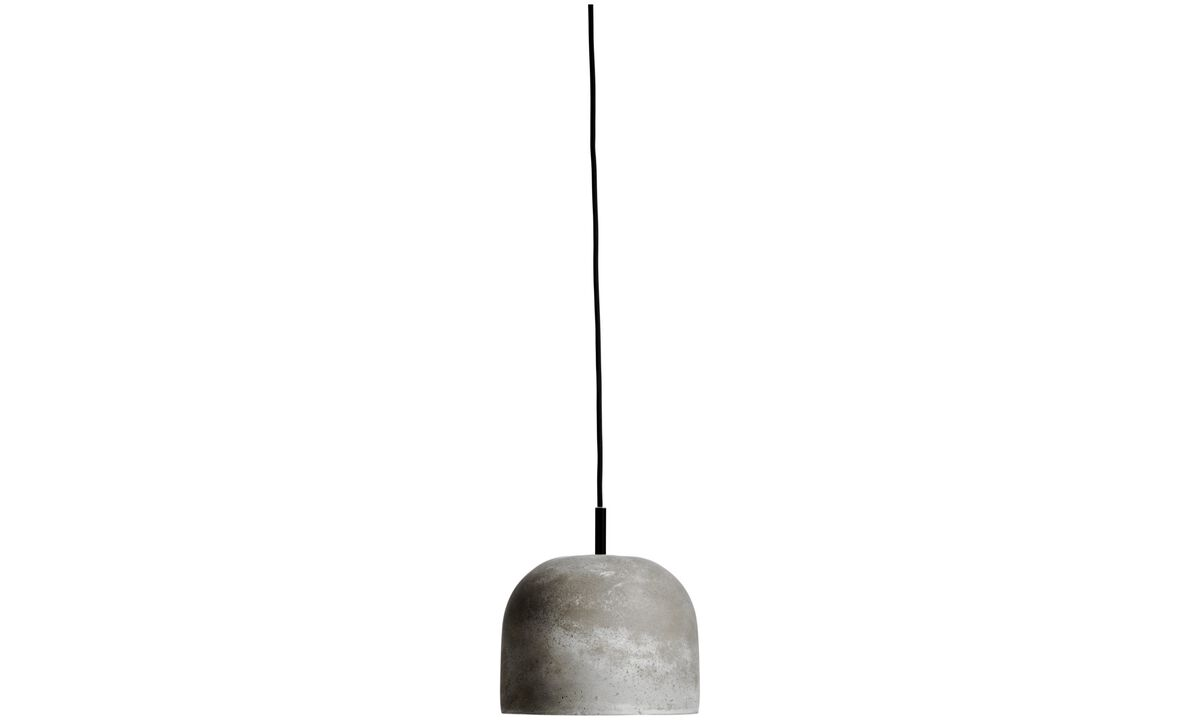 New designs - Geometry pendant - Grey - Concrete