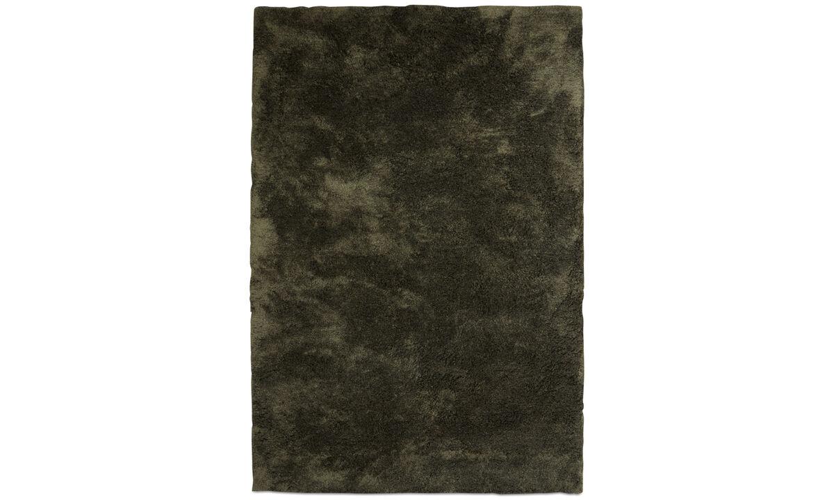 Rugs - Movement rug - rectangular - Green - Polyester