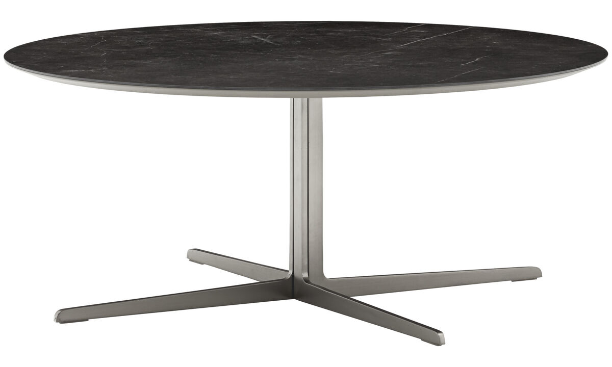 Coffee tables - Sevilla coffee table - round - Black - Ceramic