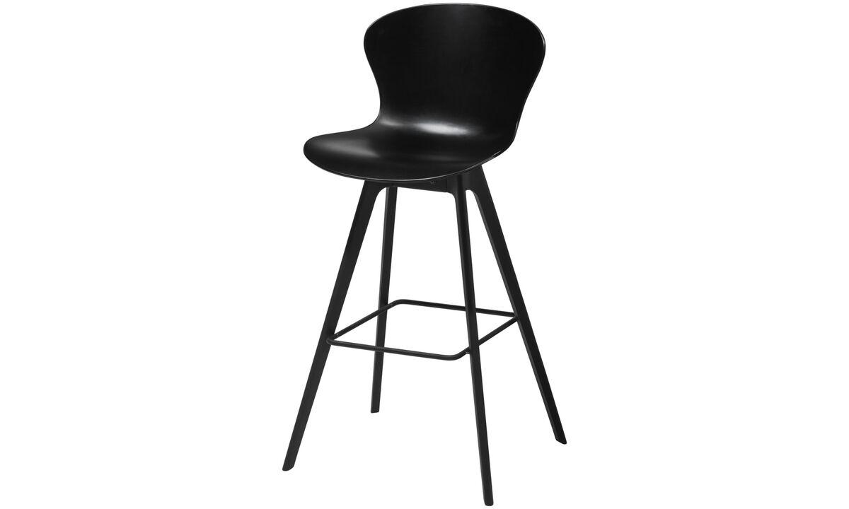 Bar stools - Adelaide barstool - Black - Plastic