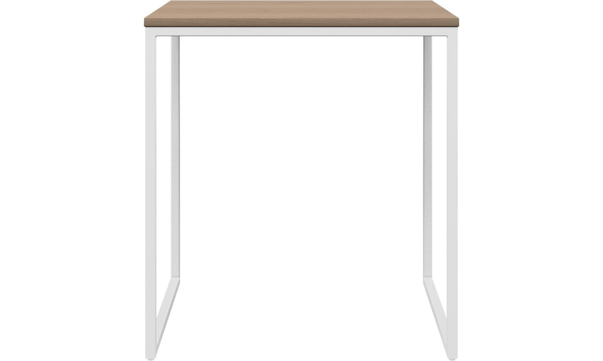 Coffee tables - Lugo coffee table - square - White - Oak