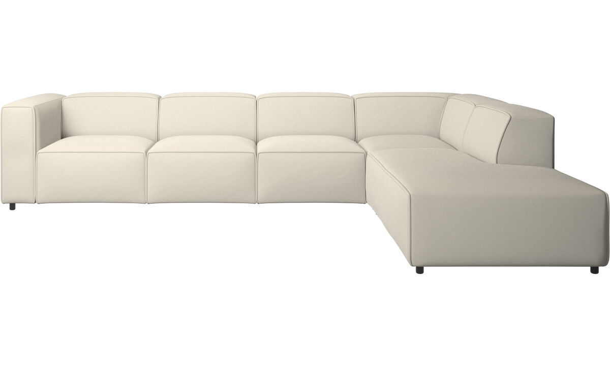 Modular sofas - Carmo corner sofa - White - Fabric