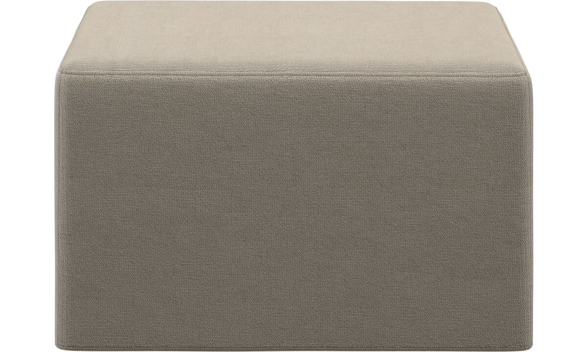 Footstools - Xtra poggiapiedi con funzione letto - Beige - Tessuto