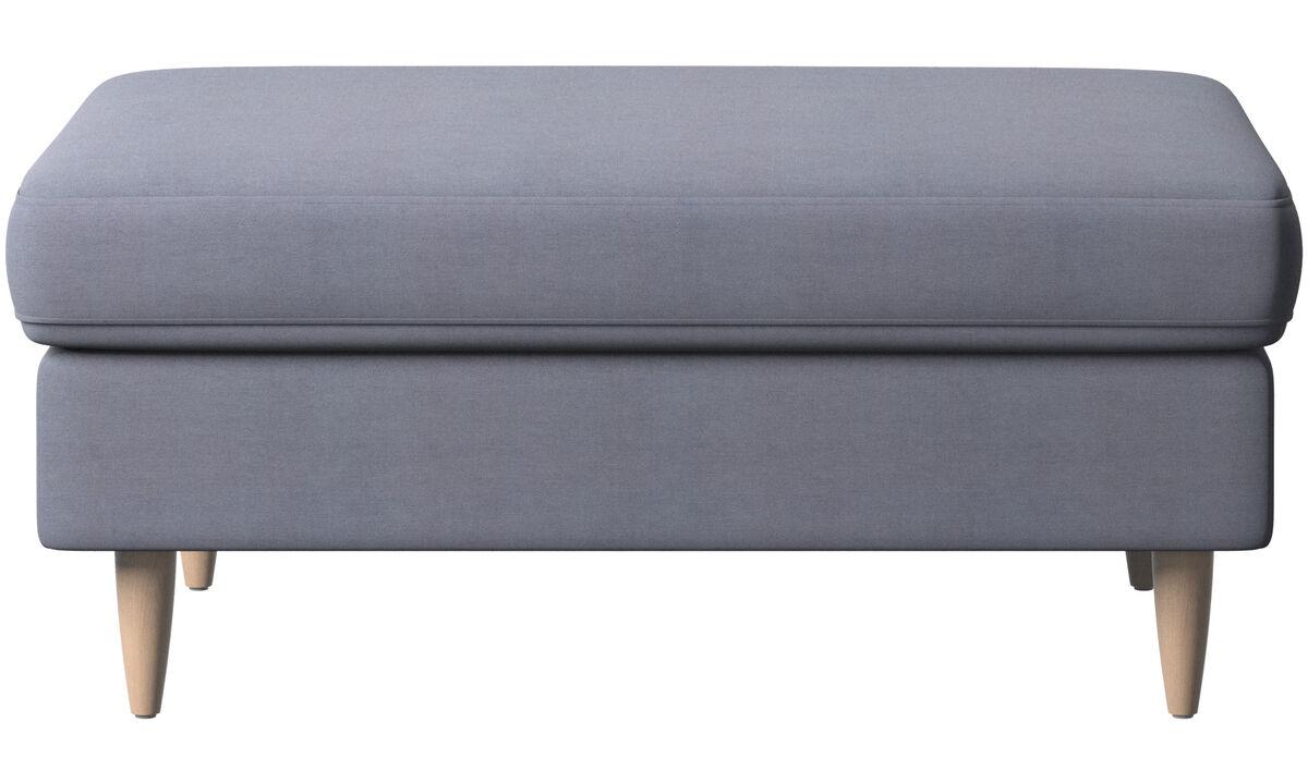 Pufs - puf Indivi - En azul - Tela