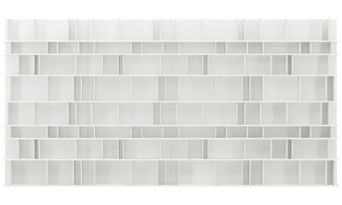 Wall systems - Como wall system - White