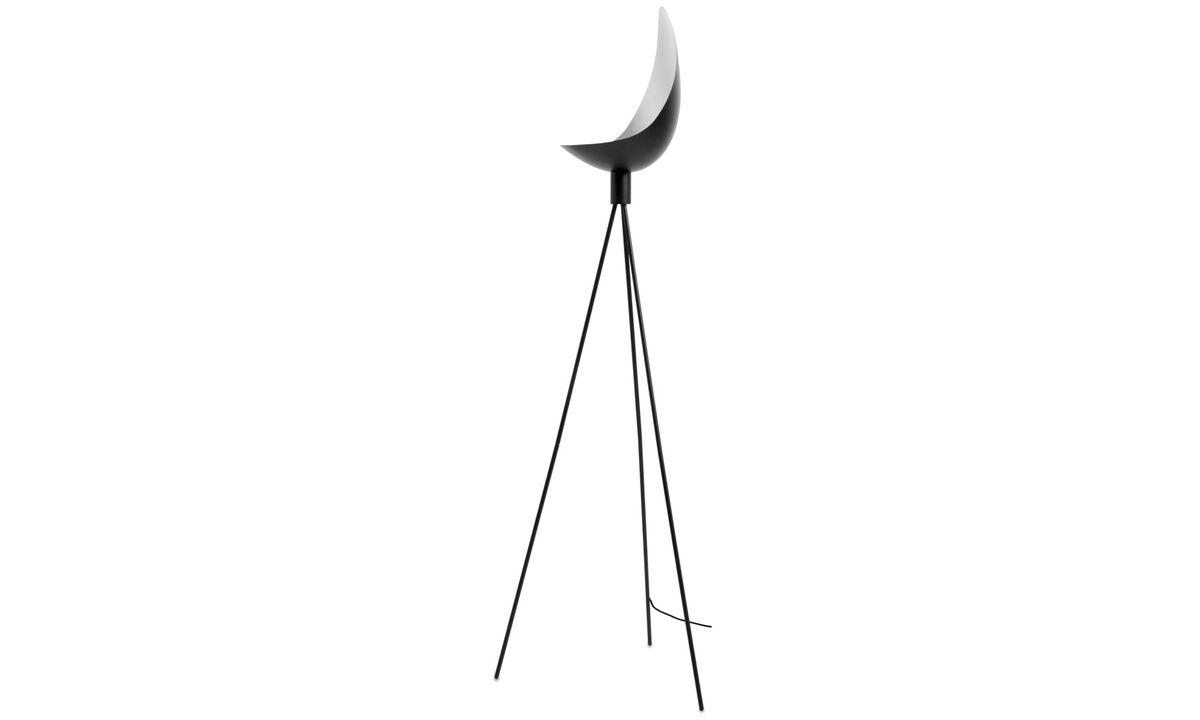 Vloerlampen - Chelsea vloerlamp - Zwart - Metaal