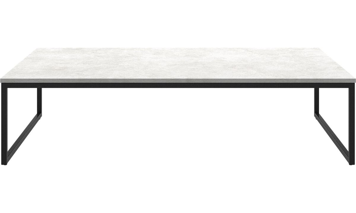 New designs - Lugo coffee table - square - Grey - Ceramic