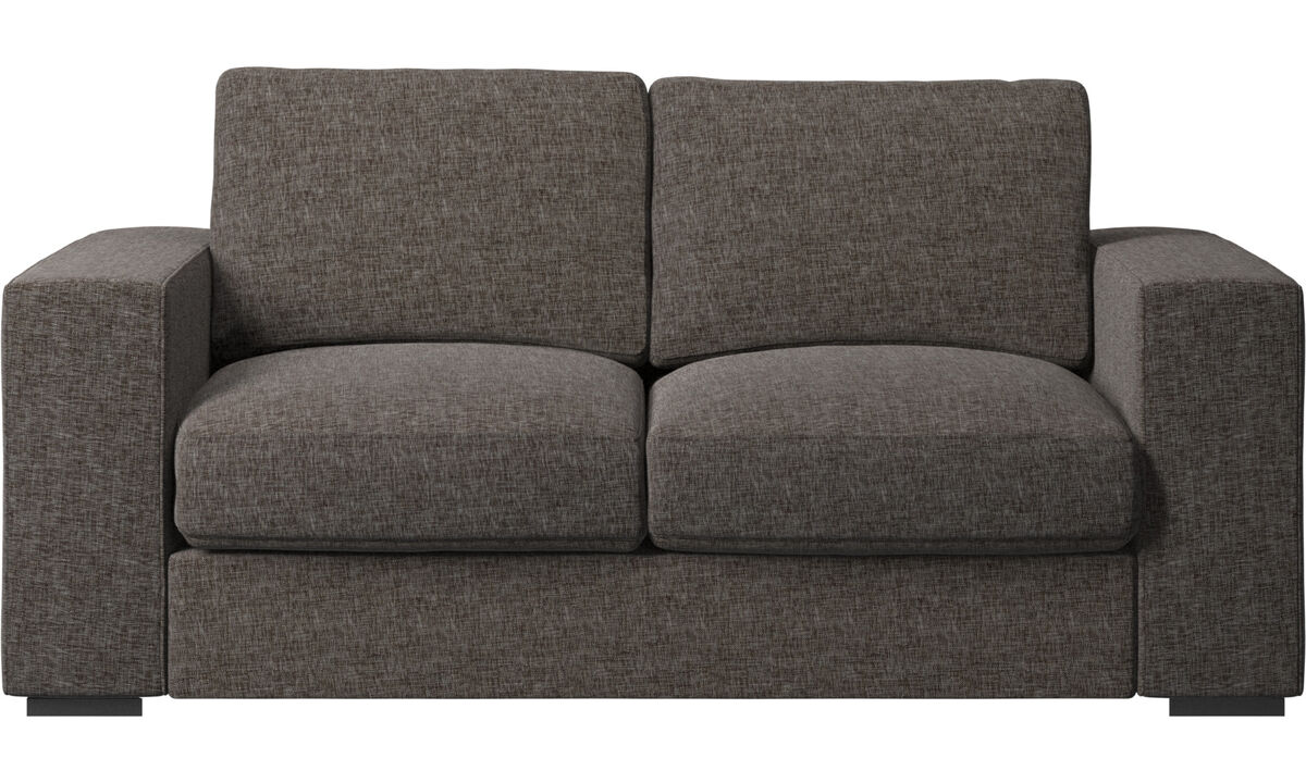 2-istuttavat sohvat - Cenova-sohva - Ruskea - Kangas