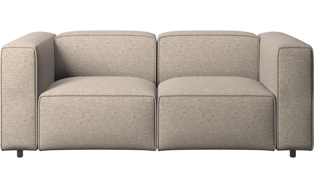 Двухместные диваны - Диван Carmo - Бежевого цвета - Tкань