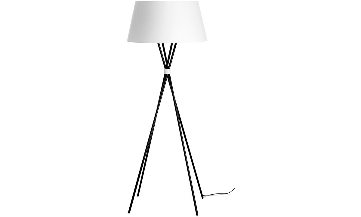 Lamps - Main floor lamp - Black - Metal