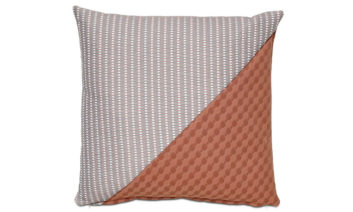 Cushions - Combi Hive cushion - Red - Fabric