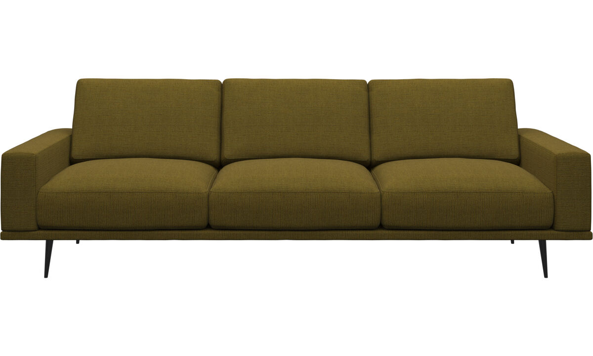 3-sitzer Sofas - Carlton Sofa - Gelb - Stoff