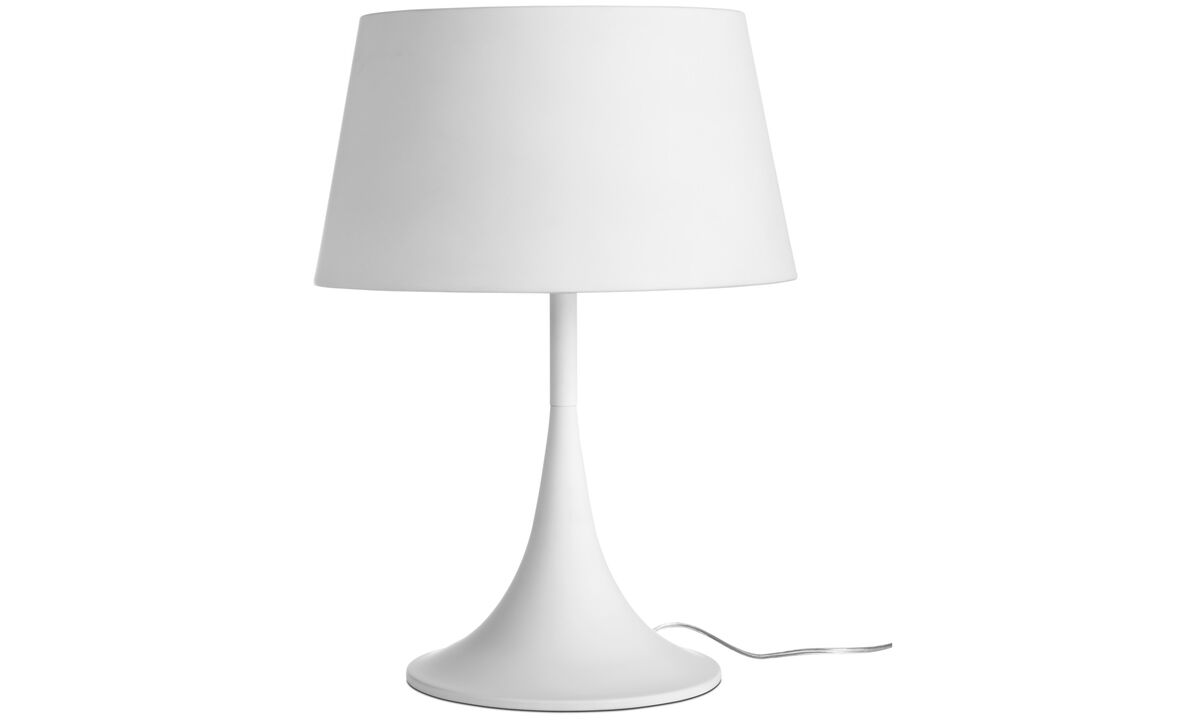 Lamps - Mix table lamp - White - Metal