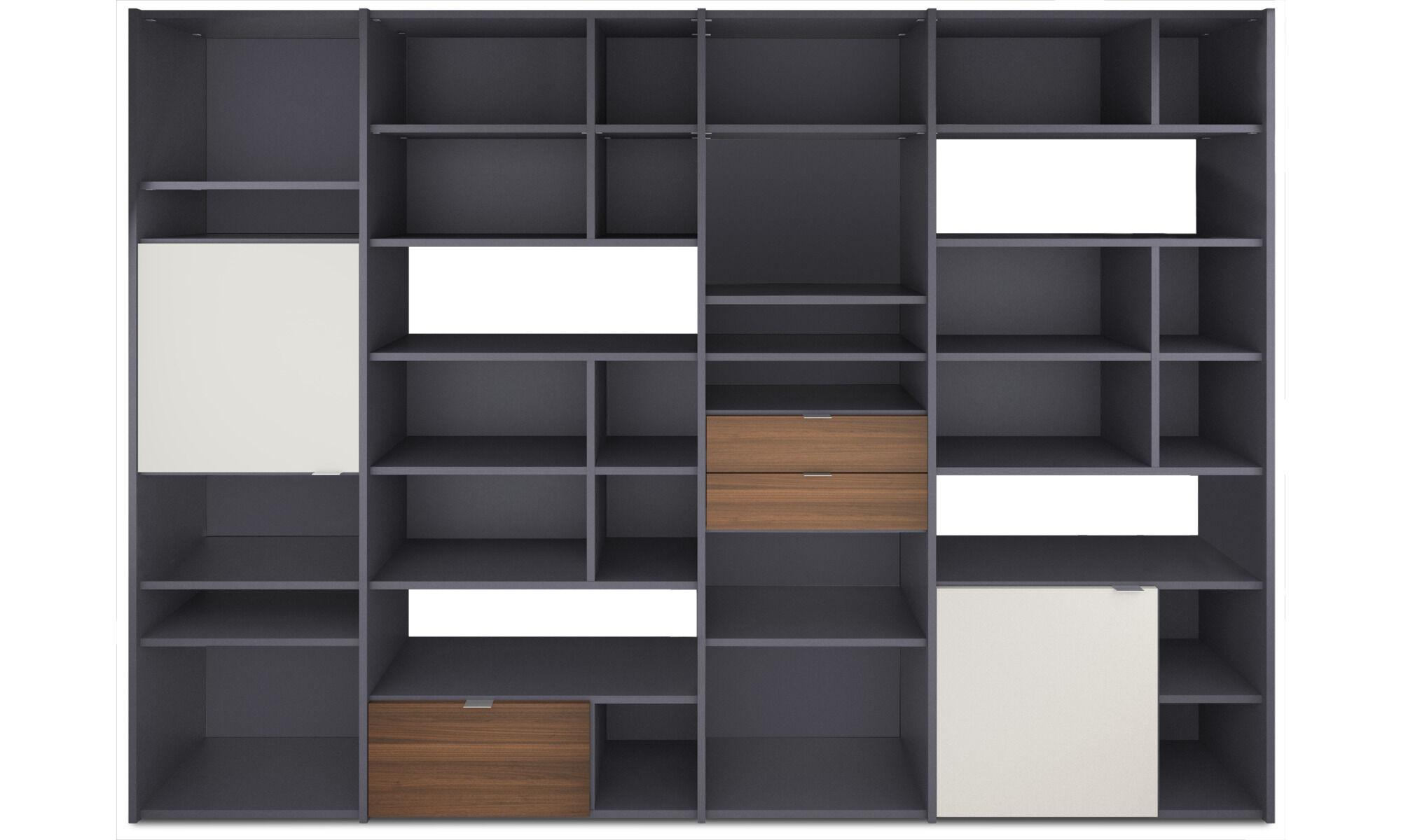 New Designs   Copenhagen Wall System   Gray