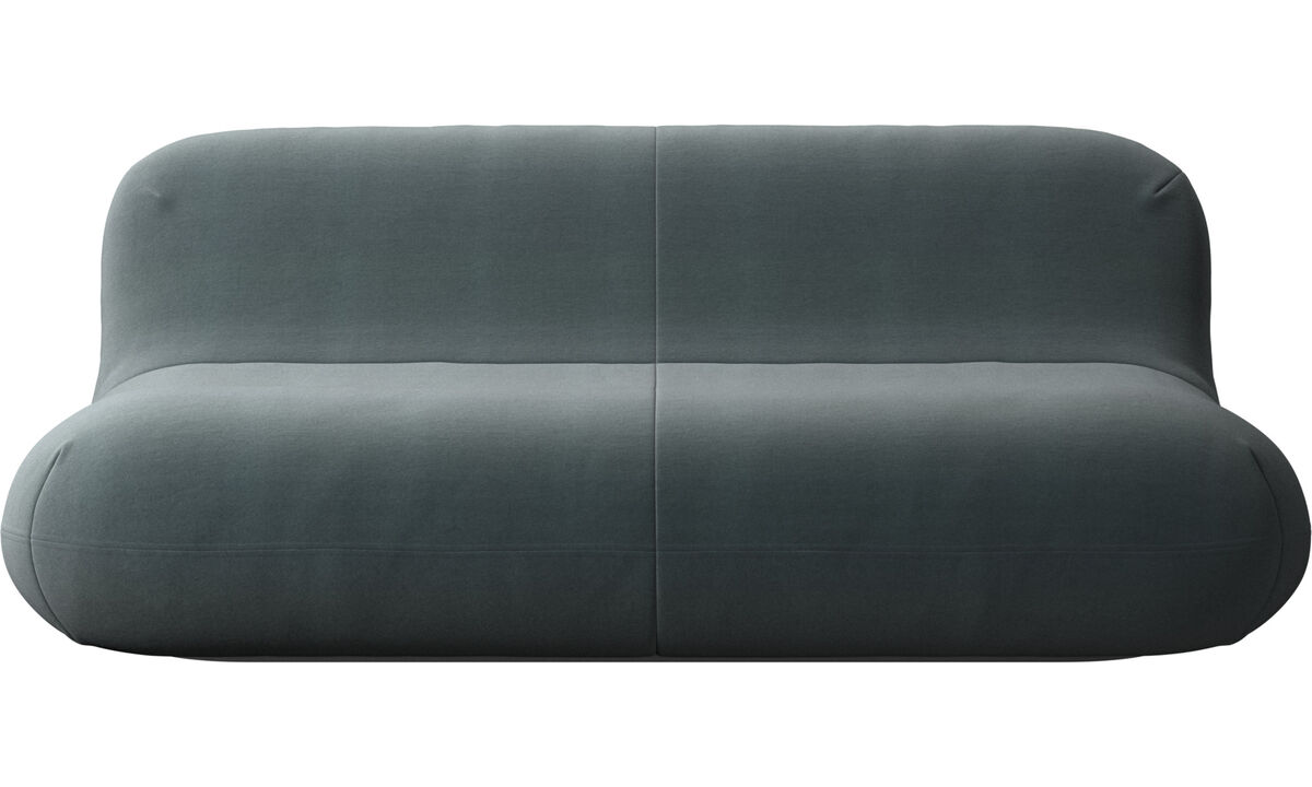 2.5 seater sofas - Chelsea sofa - Blue - Fabric