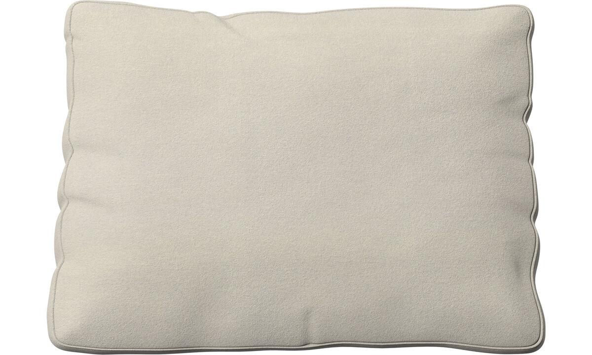 Miami cushion - White - Fabric