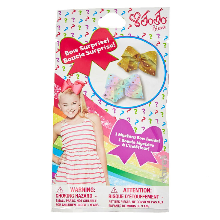 Jojo Siwa Mystery Mini Bow Hair Clip Blind Bag Claire S Us