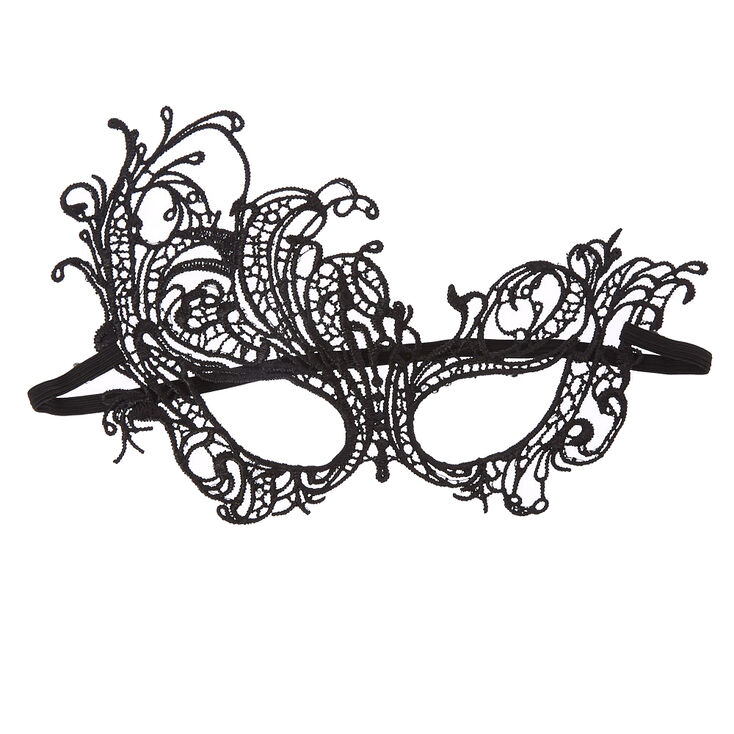 Black Lace Halloween Mask at Icing in Victor, NY | Tuggl