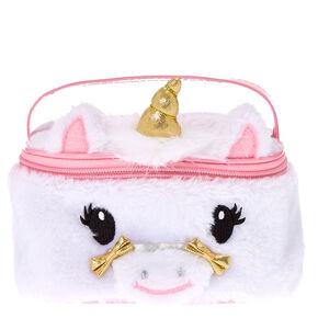 Gold Horn Unicorn Cosmetics Case,