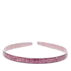 Purple Marbled Headband,