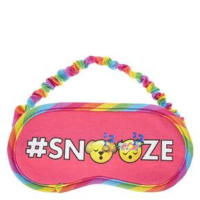 Snooze Emoji Sleep Mask,