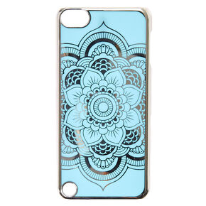 Blue Reflective Mandala Case,