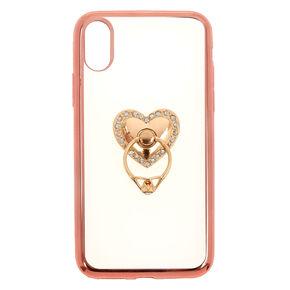 Heart Ring Holder Phone Case,