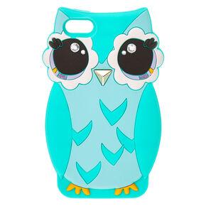 Cute Mint Green Owl iPod® Case,