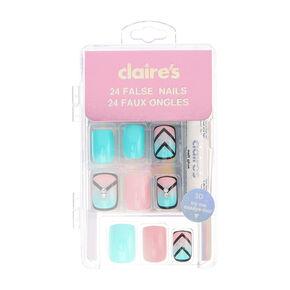fake nails claire 39 s us. Black Bedroom Furniture Sets. Home Design Ideas