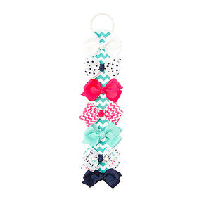 Kids Anchor Bow Set of 7,